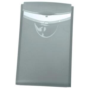 HAN Visitenkarten-Box COGNITO, 66x100x14mm, transluzent grau