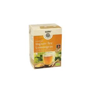GEPA Tee bio + fair, Bio Ingwer Lemongras Tee, PG=20ST