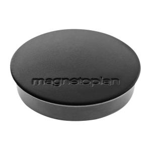 magnetoplan Discofix Standard schwarz 30mm 10 Stück