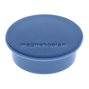 magnetoplan Discofix Color dunkelblau 40mm 10 Stück