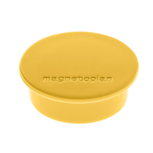 magnetoplan Magnet Discofix Color gelb 40mm 10 Stück