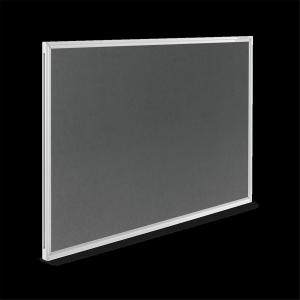 magnetoplan Textilboard SP grau 600x450mm