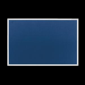 magnetoplan Textilboard SP blau 600x450mm