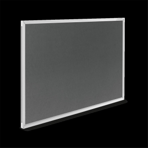 magnetoplan Textilboard SP grau 900x600mm