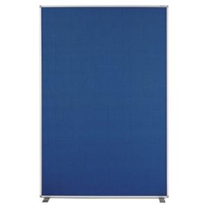magnetoplan Raumteiler Textil blau 1800x1200mm