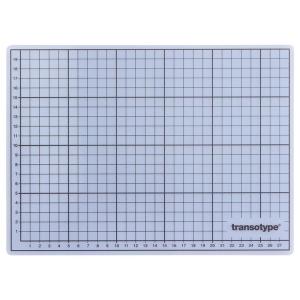 transotype Schneideunterlage, 30x22cm, transparent
