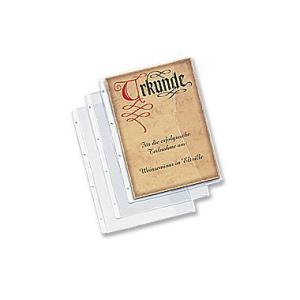 Rexel Dokumentenhülle, A4, PG=5 Stück, transparent