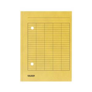 Falken Umlaufmappe - A4 - gelb - 100 Stück