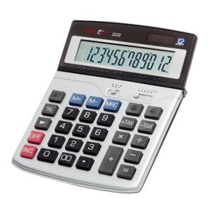 Genie Tischrechner 222, 12-stellig, 13,5x2,5x18,5cm