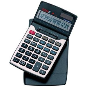 Genie Taschenrechner GENIE 84, 12-stelliges klappbares...