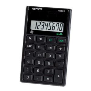 Genie Tischrechner ECO-Serie, Genie 105 ECO, 8-stelliges...