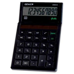 Genie Tischrechner ECO-Serie, Genie 205 ECO, 10-stelliges...