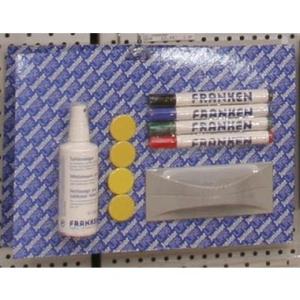 FRANKEN Whiteboard-Zubehör Schreib- und Reinigungsset