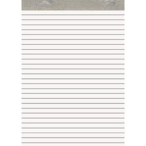 URSUS Notizblock ohne Deckblatt - DIN A4 - liniert - 50...
