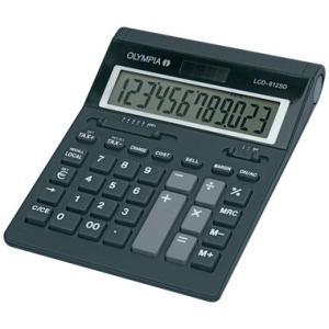 Olympia Tischrechner LCD 612 SD, 12-stellig,...