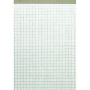 Landré Notizblock ohne Deckblatt, A4, kariert, 50...