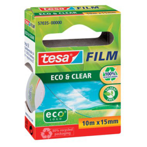 tesa tesafilm Eco & Clear - 10 m x 15 mm - transparent