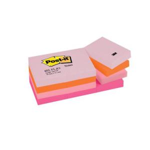 Post-it Haftnotiz Notes Happy Collection, 51x38mm,...