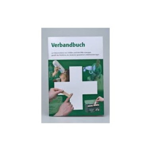 WERO-MEDICAL Verbandbuch, 64 Blatt, A5