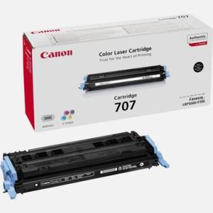 Canon 707 Original Lasertoner - black