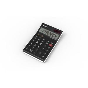 Sharp Tischrechner EL-124T WH, 12-stellig, 10,2x1,5x14,8 cm