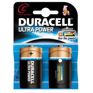 DURACELL Batterie Ultra Power, Baby 1,5 V, MX1400 Ultra...