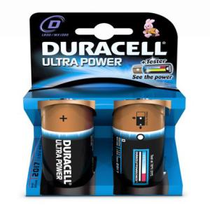 DURACELL Batterie Ultra Power, Mono 1,5 V, MX1300 Ultra...