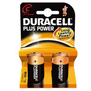 DURACELL Batterie PLUS Power, PG=2ST, Baby 1,5 V, MN1400...