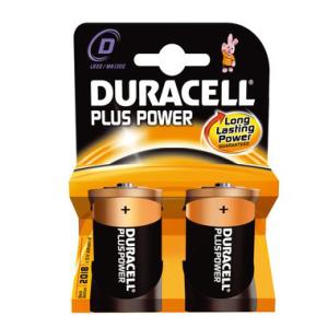 DURACELL Batterie PLUS Power, PG=2ST, Mono 1,5 V, MN1300...