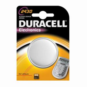 DURACELL Batterie Elektronik, USA-Code 2430, IEC-Code...
