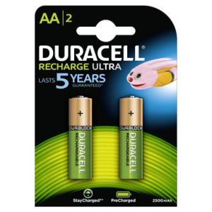 DURACELL Batterie Akkus DURACELL, HR06 2400 mAh, USA-Code...