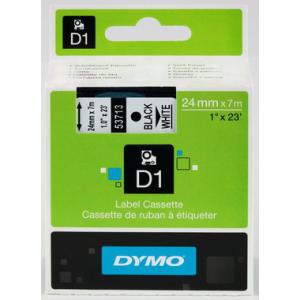 Dymo D1-Schriftband 24mm breit, 7m lang, black auf...
