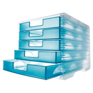 styro Schubladenbox LightBox, Farben Korpus/Schubladen...