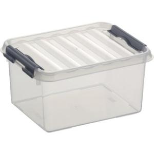helit Kunststoffbox, 200x150x100mm, Volumen 2 Ltr.,...