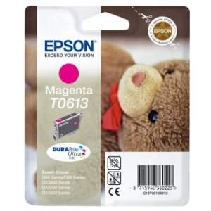 Epson T0613 Original Druckerpatrone - magenta