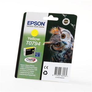 Epson T0794 Original Druckerpatrone - photo yellow