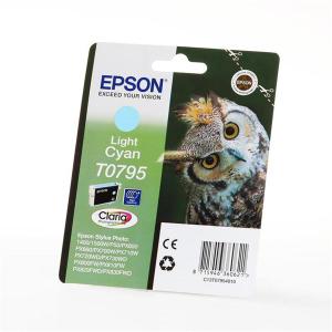 Epson T0795 Original Druckerpatrone - photo cyan hell