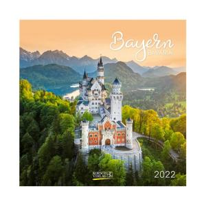 Korsch Fotokalender Bayern 2022 - 30 x 30 cm