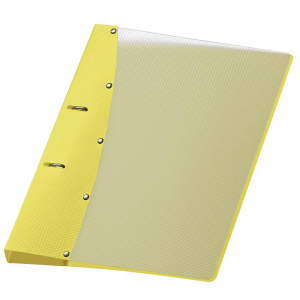 VELOFLEX Ringbuch DIAMOND - DIN A4 - PP - 2 cm - gelb