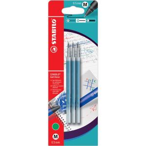 STABILO Gel Exxx Nachfüllmine - 0,5 mm - blau - 3...