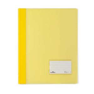 Durable Schnellhefter transluzent, A4, gelb 25 Stück