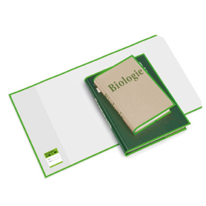 VELOFLEX Buchumschlag - 26 x 54 cm - PP - transparent -...