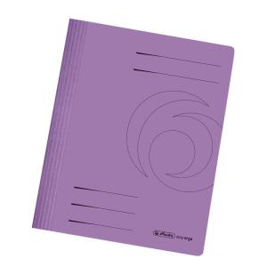 herlitz Schnellhefter - DIN A4 - Manila-Karton - violett...