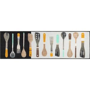 wash+dry Schmutzfangmatte Cooking Tools - 60 x 180 cm
