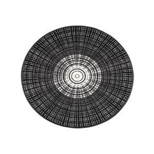 wash+dry Schmutzfangmatte Cascara black - ø 115cm
