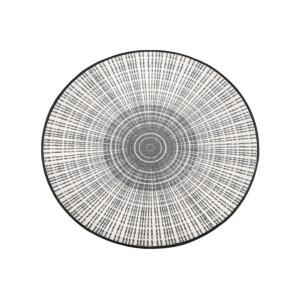wash+dry Schmutzfangmatte Cascara grey - ø 85cm