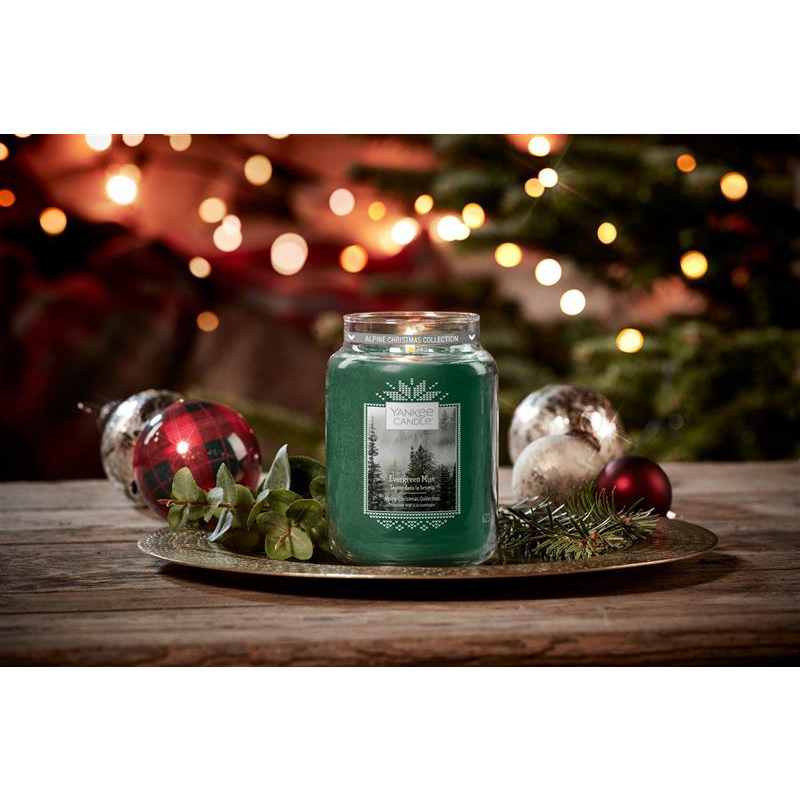 Yankee Candle Classic Smal Jar Evergreen Mist 104g