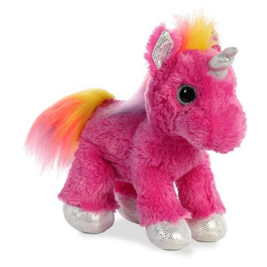 Aurora Plüscheinhorn Pink