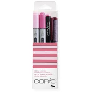 COPIC Ciao 4er Set Doodle Pack - rosa