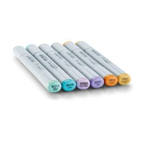 COPIC Sketch 6er Set - Pastellfarben